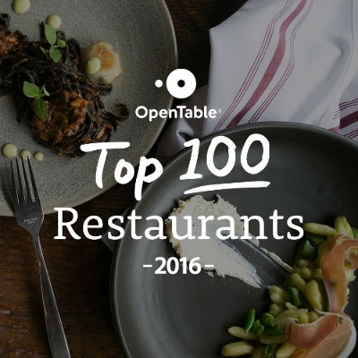 Top 100 Restaurant for 2016